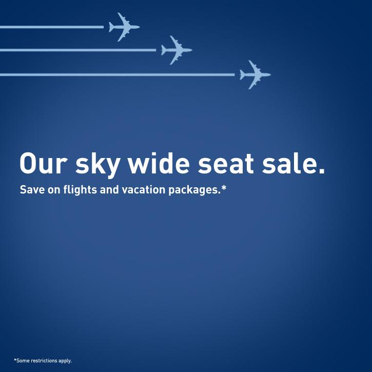 Sky deals flights