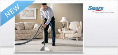Hot Deal Sears Carpet Cleaning 49 For 3 Rooms Of
