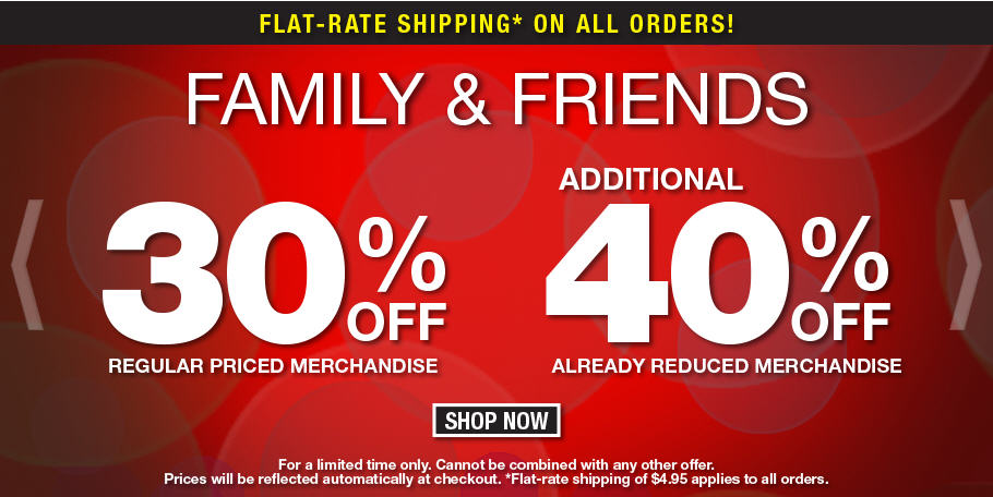 Bench Family & Friends Sale - 30 Off Regular Priced Merchandise (Until May 20)