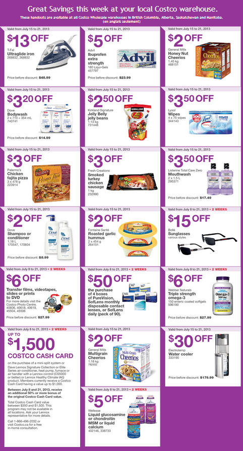 Costco coupons july 2019