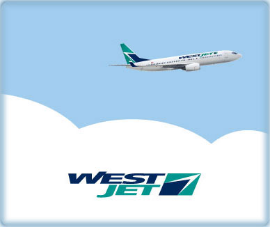 WestJet Extra 15 Off Travel within Canada or Extra 31 Off Flights to Orlando, Anaheim and LA (Book by Oct 31)