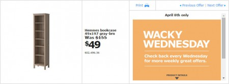 IKEA - Vancouver Wacky Wednesday Deal of the Day (Apr 8) Richmond B
