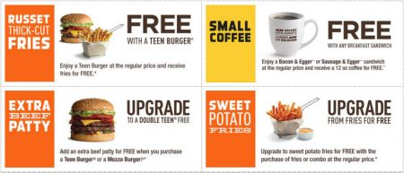 A&W Canada New Printable Coupons + Free Root Beer Coupon (Until May 8)