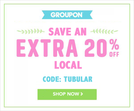 GROUPON Extra 20 Off Local Deals Promo Code (Apr 28-30)