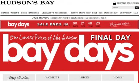 TheBay Final Day of Bay Days - Extra 15 Off Flash Sale (Apr 28)