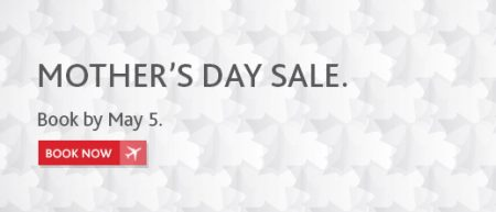 Air Canada Mother's Day Worldwide Seat Sale (May 4-5)