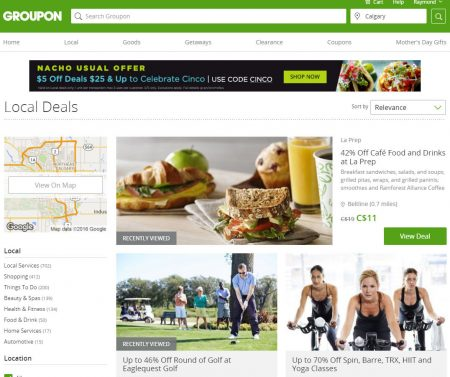 GROUPON Today Only - Extra $5 Off Deals $25 & Up Promo Code (May 5)