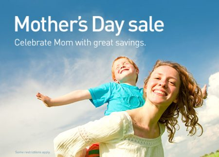 WestJet Mother's Day Seat Sale (May 4-5)